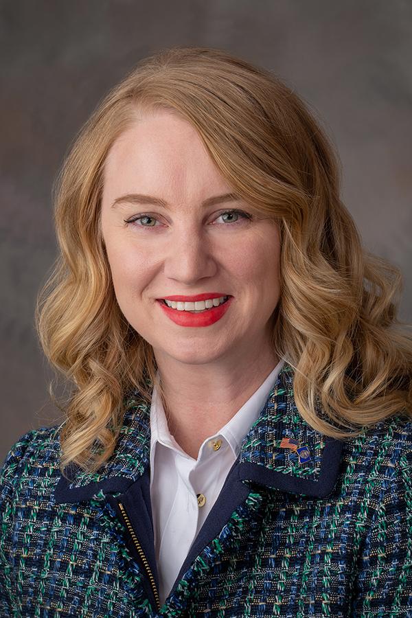 Megan Hunt, Senator Elect. December 20th, 2018. Photo by Gregory Nathan / University Communication